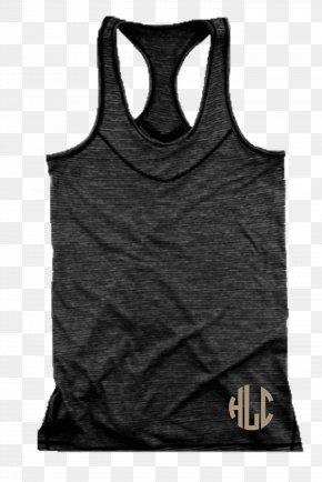 T-shirt - T-shirt Gilets Active Tank M Sleeveless Shirt PNG