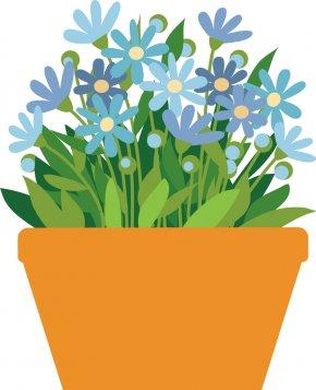Pot Plant - Flowerpot Houseplant Clip Art PNG