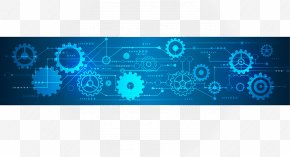 Gear And Information Technology Background - Gear Information Technology PNG