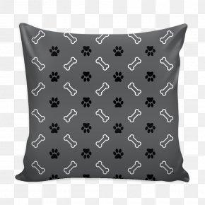 Throw Pillows - Throw Pillows Cushion Black M PNG
