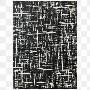Black And White Watercolor - White On White Oil Painting Abstract Art PNG