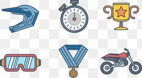 Glove Goggles Helmet Riding Speed - Euclidean Vector Goggles PNG
