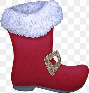Snow Boot Shoe - Footwear Pink Boot Fur Shoe PNG