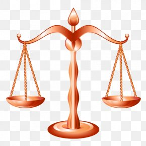 Cartoon Balance Scale - Weighing Scale Lawyer Justice PNG