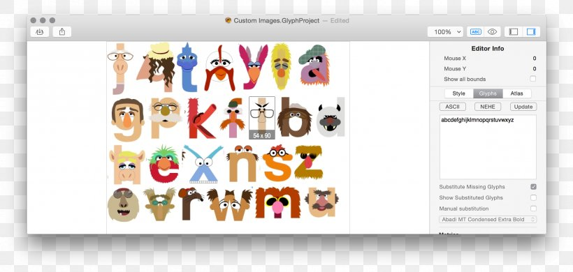 Bitmap-Schrift Typeface Font Editor Font, PNG, 2410x1148px, Bitmapschrift, Area, Brand, Character, Character Map Download Free