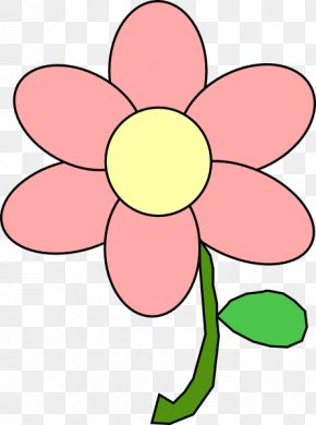 Free - Cartoon Drawing Pink Flowers Clip Art PNG