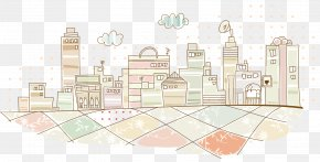 Morning City - Designer Illustration PNG