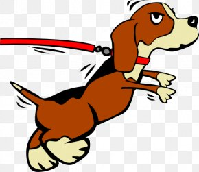 Free Pics Of Dogs - Dog Puppy Leash Clip Art PNG
