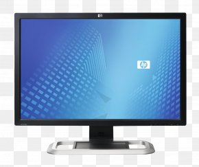 Monitor Image - Hewlett Packard Enterprise Laptop Computer Monitor Liquid-crystal Display Digital Visual Interface PNG