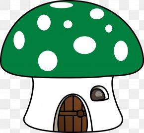 Mushroom - Mushroom House Animation Clip Art PNG