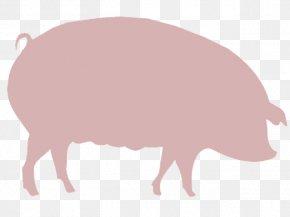 Pig - Domestic Pig Agriculture Farm Clip Art PNG
