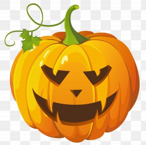 Happy Pumpkin Cliparts - Pumpkin Halloween Jack-o-lantern Clip Art PNG