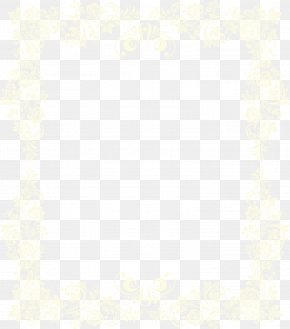 Yellow Frame - Symmetry Area Pattern PNG