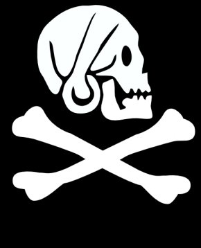 Avery Cliparts - Uncharted 4: A Thiefs End The Successful Pyrate Golden Age Of Piracy Jolly Roger Flag PNG