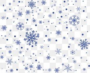 Blue Snowflake Background - Blue Snowflake PNG