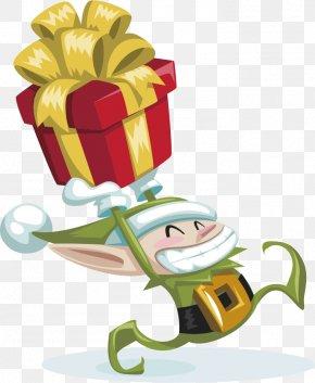 Christmas Gift - Santa Claus Christmas Gift Christmas Elf PNG