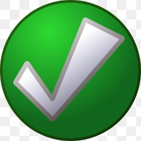 Green Tick Transparent - Check Mark Clip Art PNG