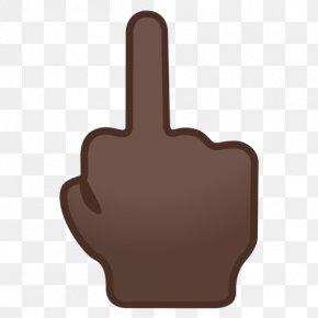 Middle Finger - Thumb Middle Finger Human Skin Color Dark Skin PNG