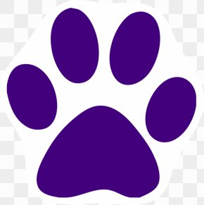 Husky Paw Cliparts - Cat Tiger Cougar Paw Clip Art PNG