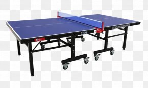 Outdoor Table Tennis Table - International Table Tennis Federation PNG