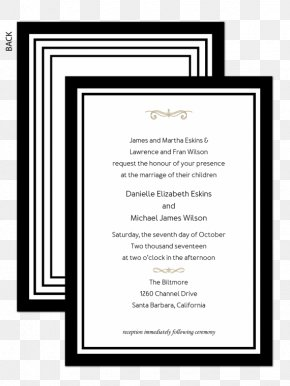 Wedding Invitation Paper - Wedding Invitation Paper Greeting & Note Cards Bow Tie PNG