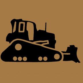 Bulldozer - Bulldozer Excavator Heavy Machinery Architectural Engineering Clip Art PNG