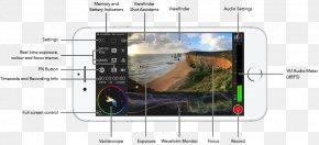 Camera Viewfinder - .ipa Camera User Interface Viewfinder PNG
