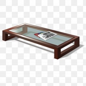 Vector Short Coffee Table - Living Room Furniture Bedroom PNG