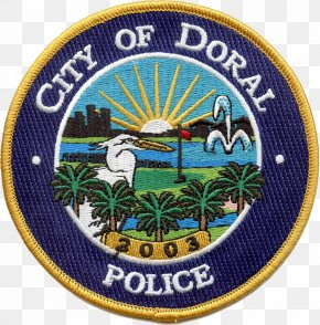 Police - City Of Doral Police Department Police Officer Badge United States Capitol Police PNG