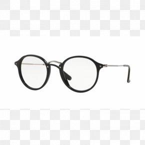 Ray Ban - Ray-Ban RX2447V Round Icon Sunglasses Eyeglasses Ray-Ban PNG