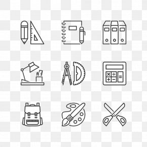 School Supplies High-definition Deduction Material - School Supplies Icon PNG