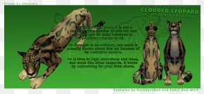 Clouded Leopard - Giraffe Felidae Clouded Leopard Art PNG