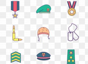 Military Clothing Equipment - Military Uniform Military Badges Of The United States PNG