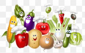One Pair Of Fruits And Vegetables - Fruits Et Lxe9gumes Vegetable Legume PNG