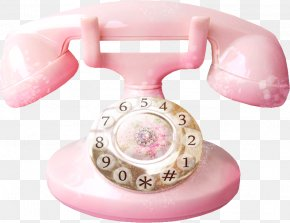 Pretty Pink Phone - Telephone Booth Mobile Phone PNG
