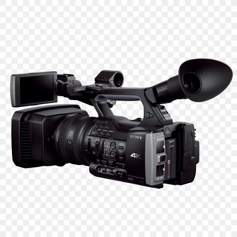 4K Resolution Video Cameras Sony Handycam Professional Video Camera, PNG, 1000x1000px, 4k Resolution, Camera, Camera Accessory, Camera Lens, Cameras Optics Download Free