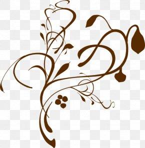 Curls Border Cliparts - Funeral Free Content Flower Clip Art PNG