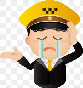 Sad Cry Expression Pack - Police Officer Police Car PNG