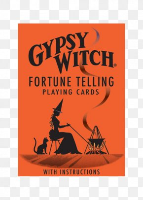 Fortune Telling - Gypsy Witch Fortune-Telling Cards Playing Card Tarot Witchcraft PNG