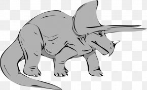 Extinct Cliparts - Baby Triceratops Apatosaurus Tyrannosaurus Brontosaurus PNG