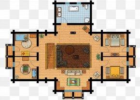 House - Chalet Floor Plan House Maison En Bois Storey PNG