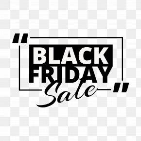 Sale Banner - Black Friday Promotional PNG