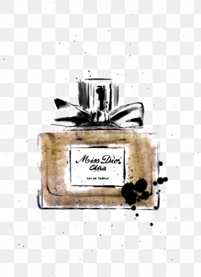 Drawing Perfume - Chanel Perfume Fashion Illustration Drawing Illustration PNG