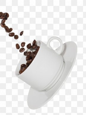 Floating Coffee Beans - Coffee Cup Tea Cafe Chocolate Milk PNG