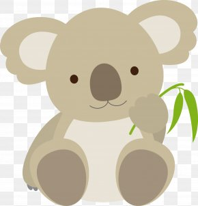 Koala Vector - Koala Bear Cuteness Emoticon Clip Art PNG