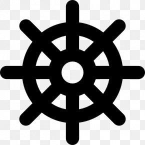 Ship - Ship's Wheel Boat Steering Wheel Clip Art PNG