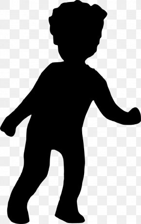 Silhouette - Silhouette Boy Clip Art PNG