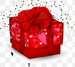 Valentine's Day - Valentine's Day Gift Love Clip Art PNG