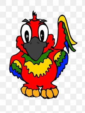 Cute Parrot Transparent Image - Parrot AR.Drone Lovebird Clip Art PNG