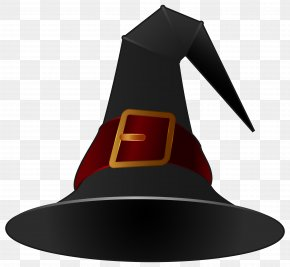 Black Witch Hat Clipart Image - Witch Hat Icon Clip Art PNG